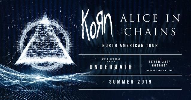 Korn, Alice In Chains, Underoath, Fever 333