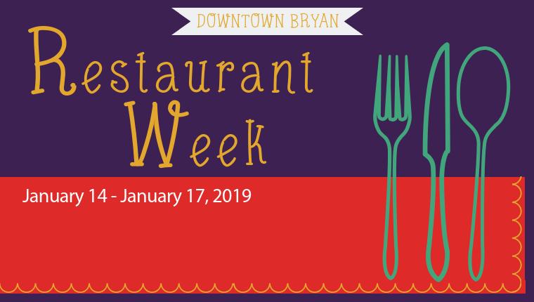 Downtown Bryan's Restaurant Week