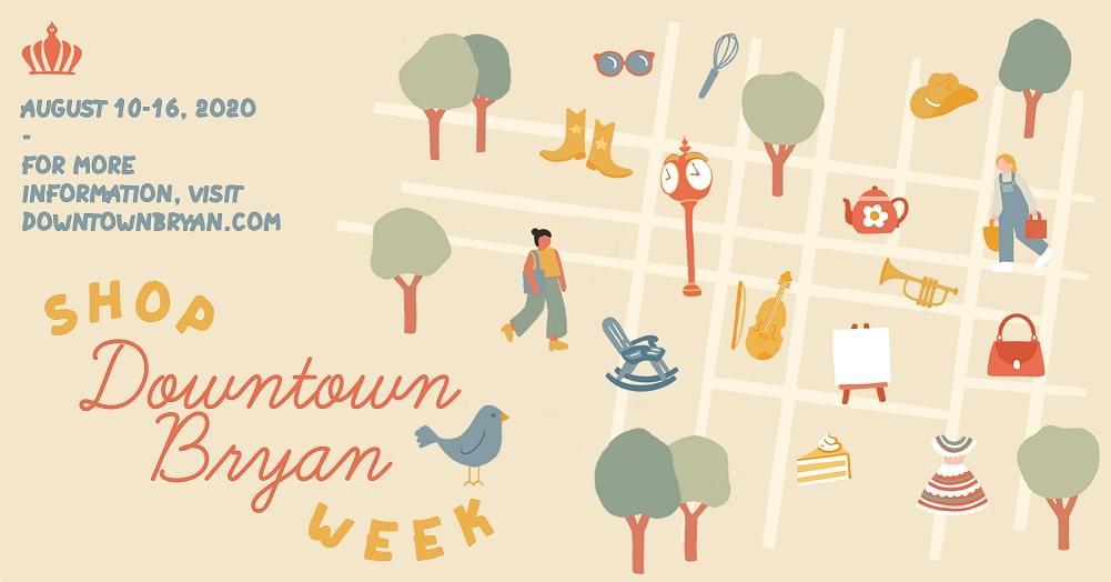 Shop Downtown Bryan Week!