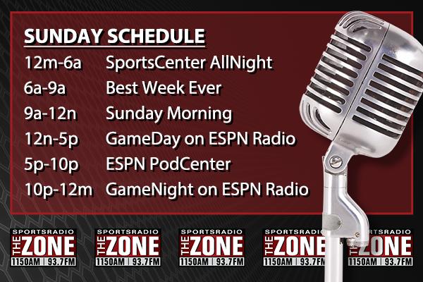 Sunday ZONE Lineup