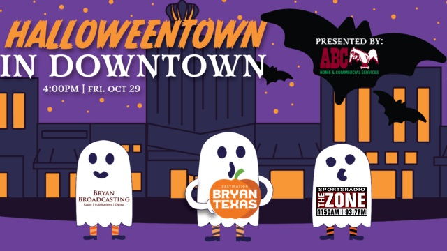 Halloween Town in Bryan!