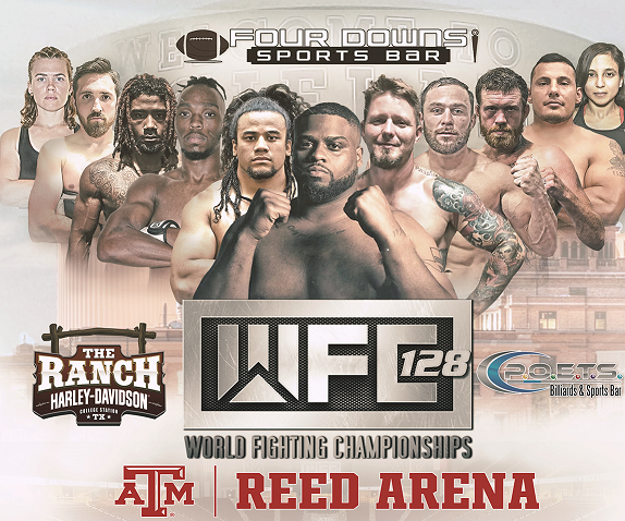 WFC 128 at  Reed Arena