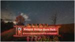Natural Bridge State Park recognized officially as an International Dark Sky Park
