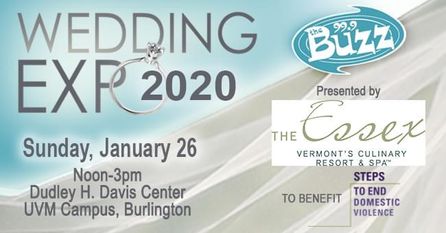 BUZZ Wedding Expo 1/26 @ UVM Davis Center