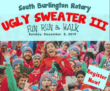 Ugly Sweater Fun Run & Walk 12/8