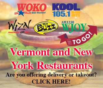 Vermont and New York Restaurants To Go!