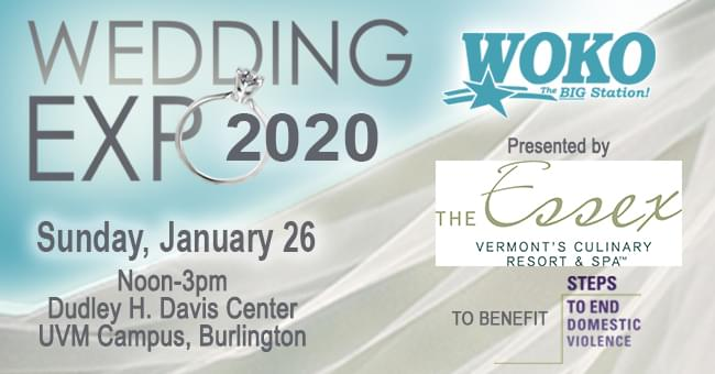 WOKO Wedding Expo 1/26 @ UVM Davis Center