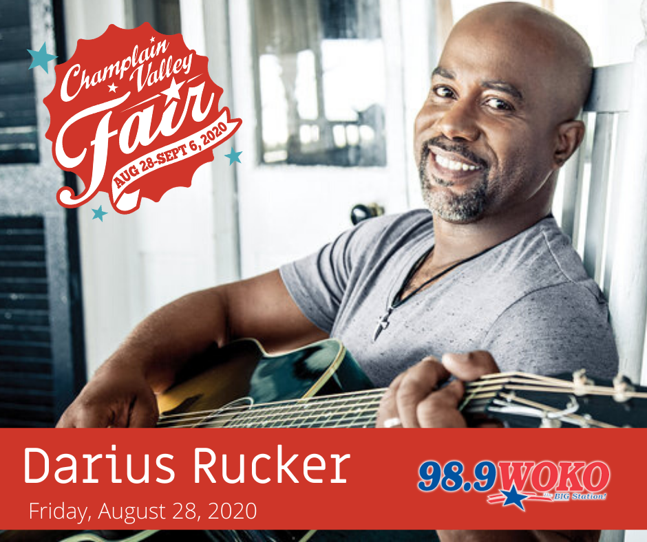 Darius Rucker at the Champlain Valley Fair 8/28/20