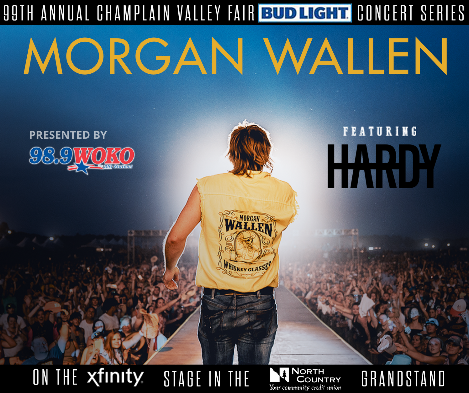 Morgan Wallen at the Champlain Valley Fair 9/4/20