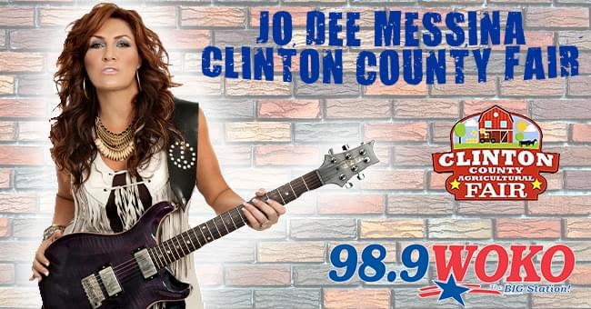 Jo Dee Messina at The Clinton county Fair 7/31