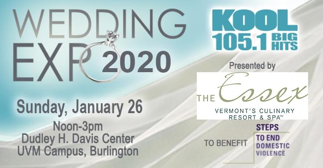 KOOL Wedding Expo 1/26 @ UVM Davis Center