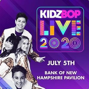 KID BOPZ LIVE 2020 at Bank New Hampshire Pavilion 7/5