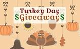 Turkey Day Giveaway – Get a head start on your holiday shopping with this $3,000 cash prize!