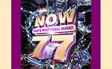 NOW THAT'S WHAT I CALL MUSIC! – VOLUME 77 – Enter Online To Win