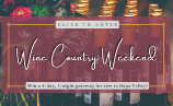 Wine Country Weekend – Win a 4-day, 3-night getaway for two to Napa Valley!