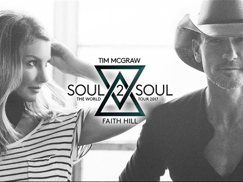 Tim McGraw and Faith Hill Tease Special Soul2Soul World Tour Announcement