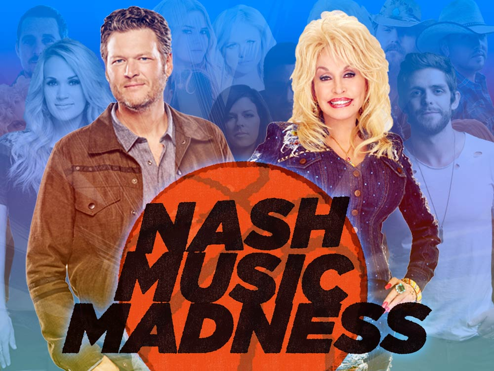 Vote Now: 3rd Annual Nash Music Madness Finals—Blake Shelton vs. Dolly Parton