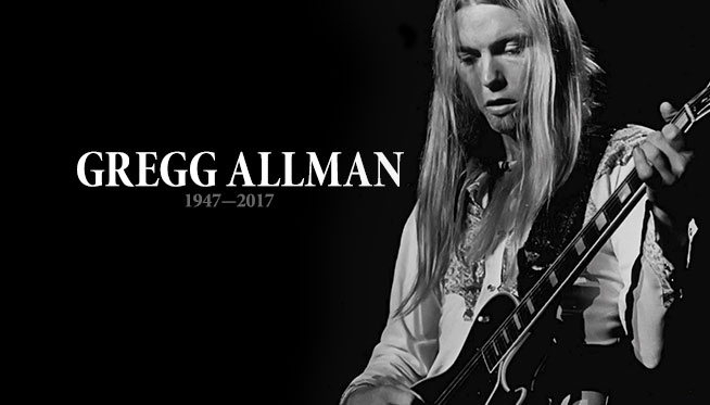 Gregg Allman has died