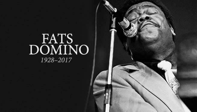 RIP Fats Domino