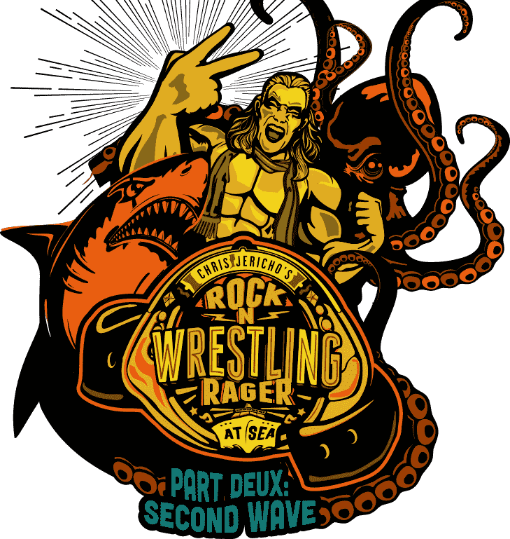 Text for a chance to sail on Chris Jericho's Rock N Wrestling Rager at Sea!