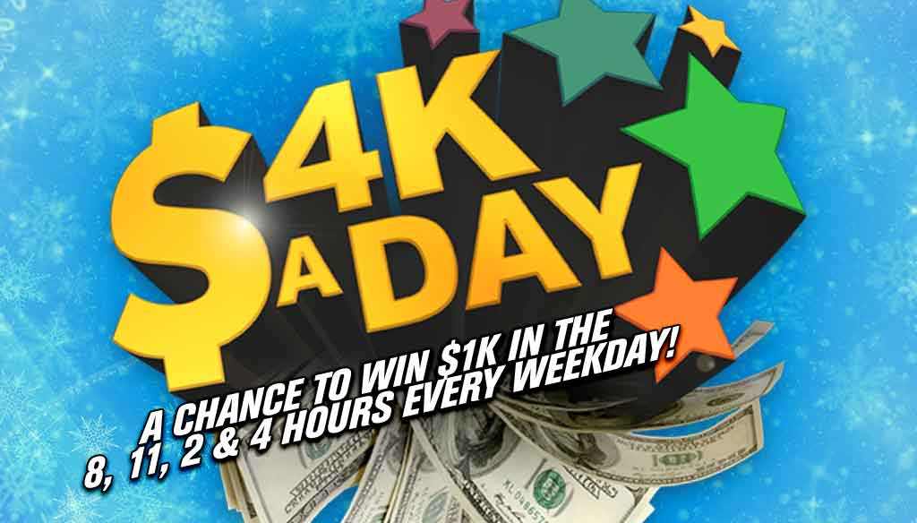 4K a Day!