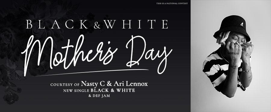 Black & White Mother's Day