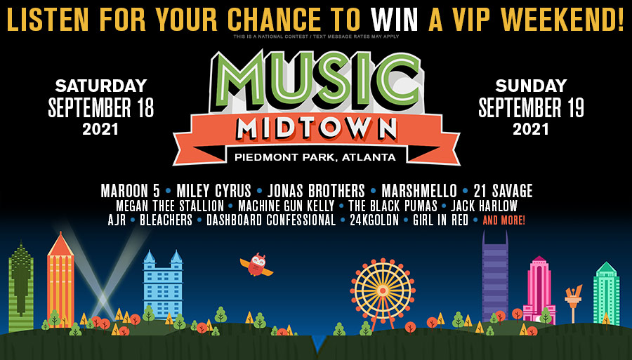 Win a VIP Weekend at Music Midtown