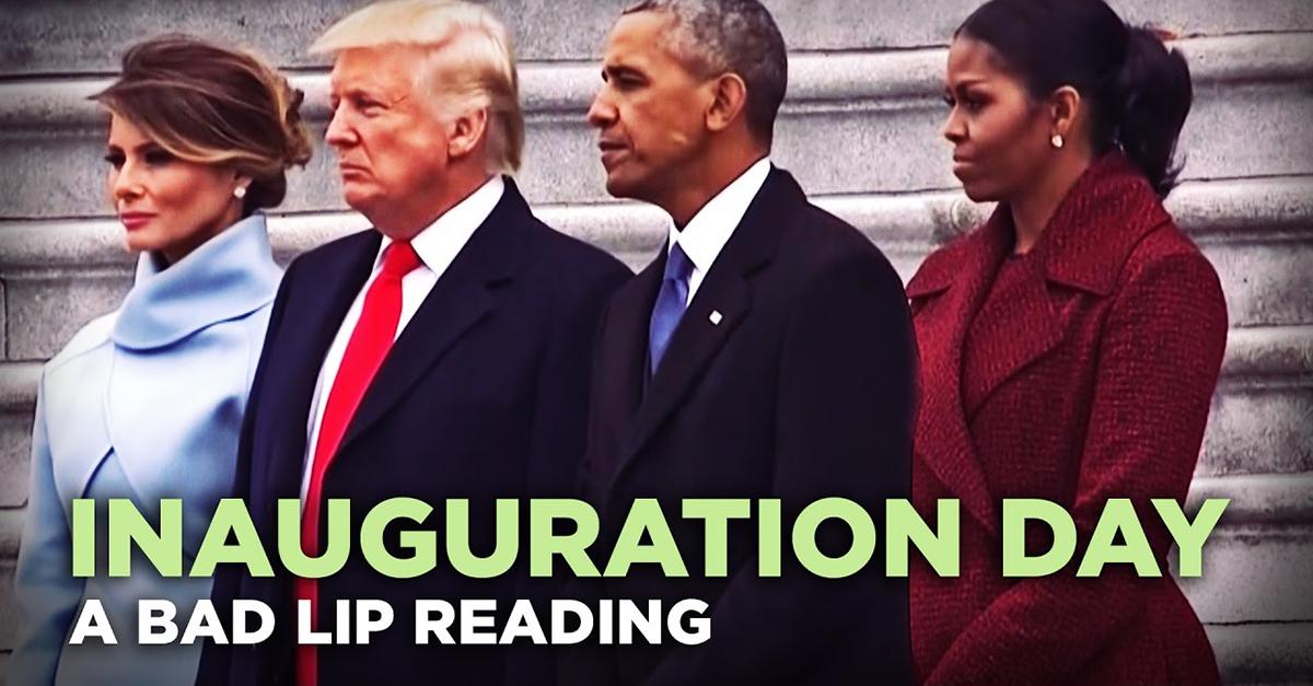 Bad Lip Reading Nails Inauguration