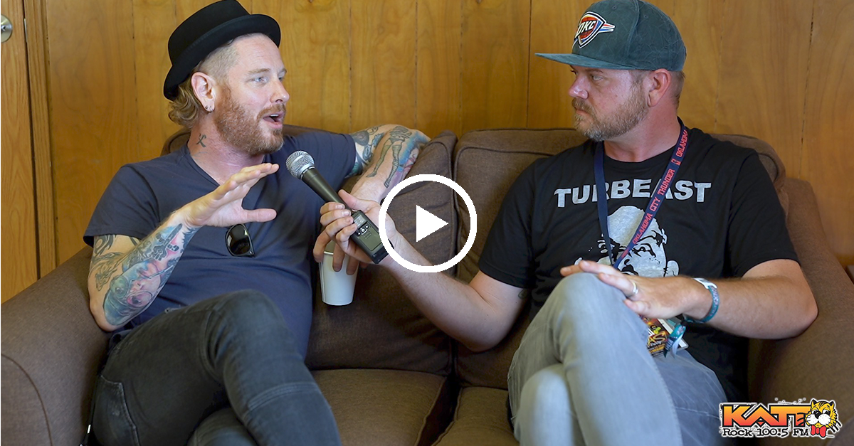 Corey Taylor Talks Coffee, Rocklahoma, Hydrograd, and more…