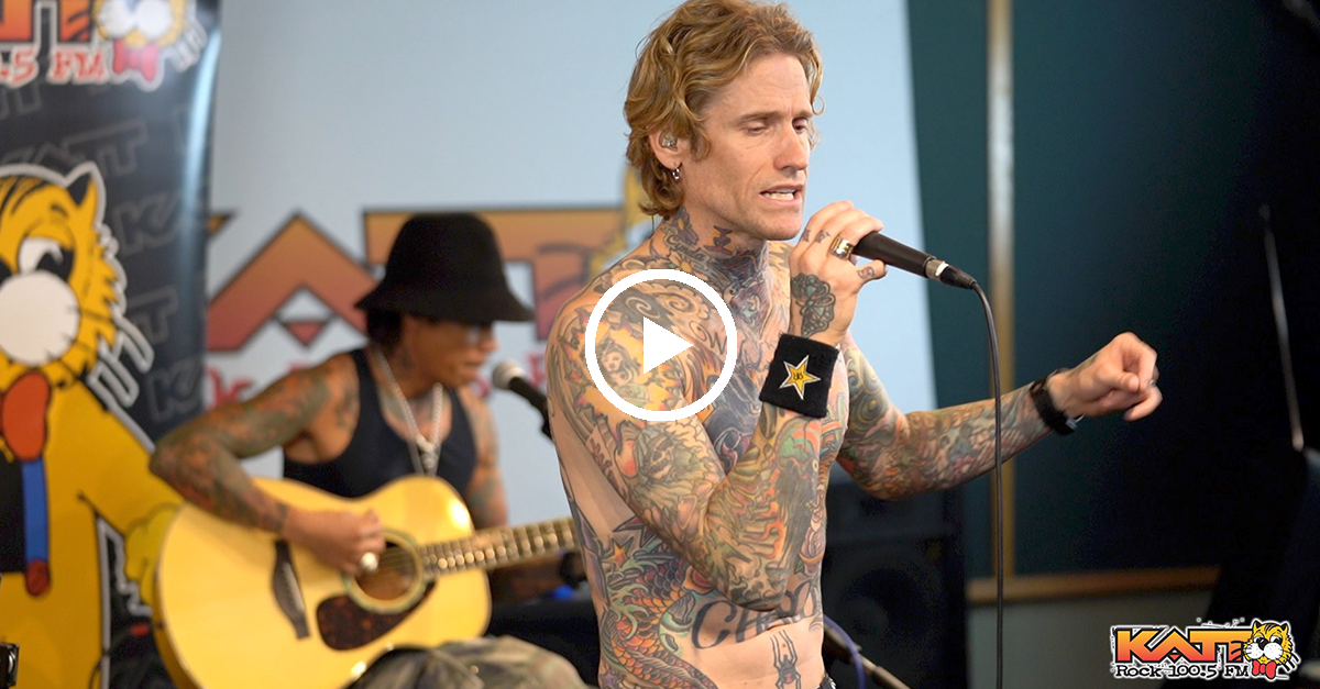 "Josh Todd & The Conflict Perform ""Rain"" In KATT's Jungle Room"