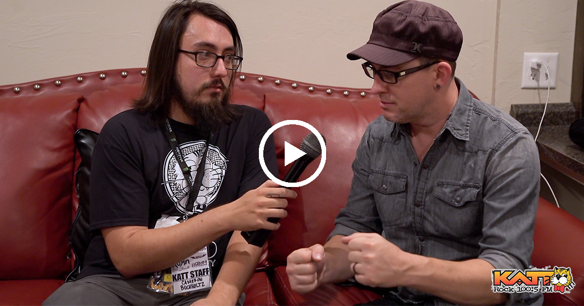 Interview with Chevelle's Sam Loeffler at KATTFEST