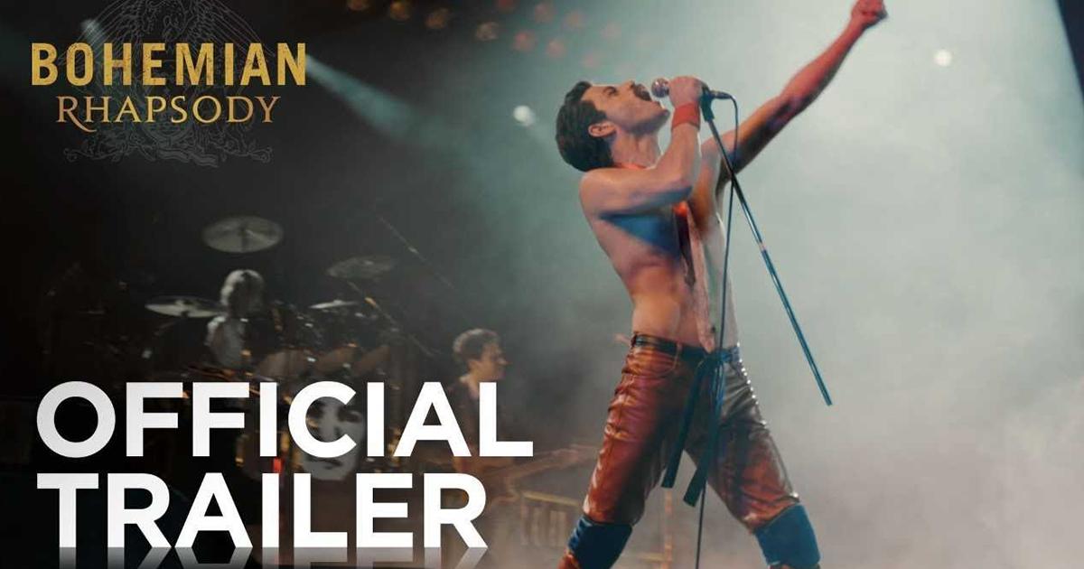 Bohemian Rhapsody Movie Trailer!