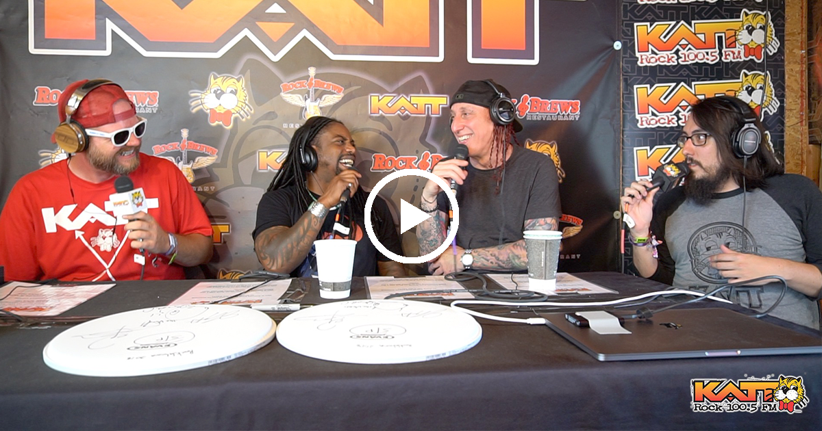 [VIDEO] Jay & Cameron talk to LJ & Morgan from Sevendust