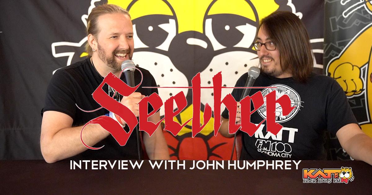 Seether Drummer John Humphrey Interview