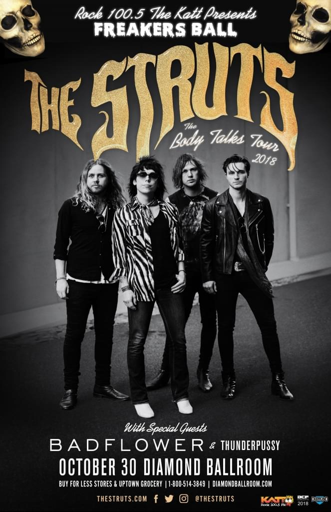 The KATT's Freaker's Ball w/The Struts & Badflower