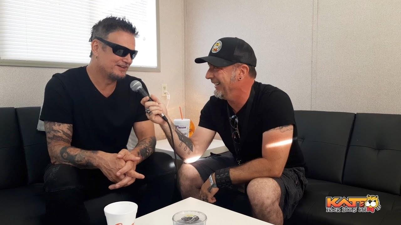[VIDEO] KATT at Rocklahoma 2019 – Jake Daniels talks to Dan Donegan of DISTURBED