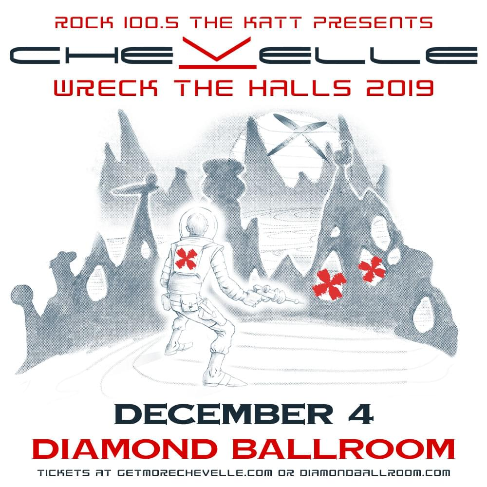 Wreck The Halls: Chevelle w/Convey and The Band Royale