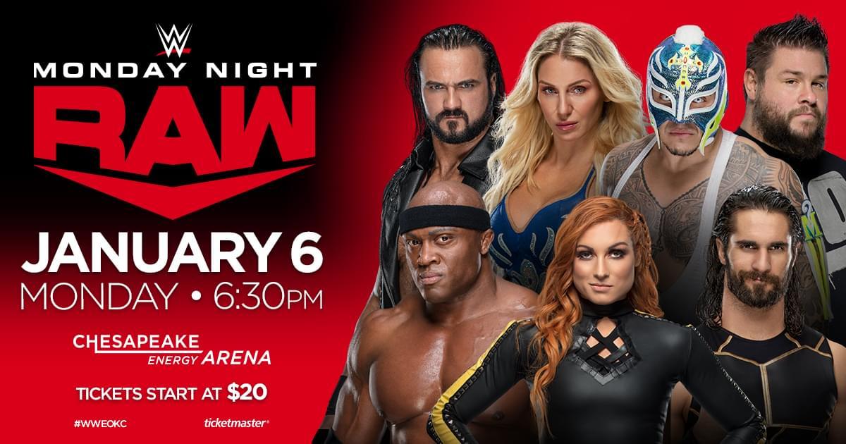 WWE Monday Night RAW | Chesapeake Energy Arena