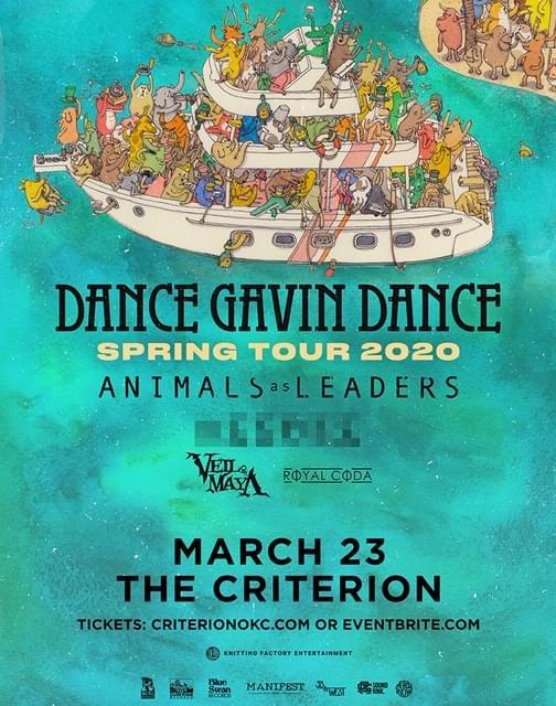 Dance Gavin Dance | The Criterion