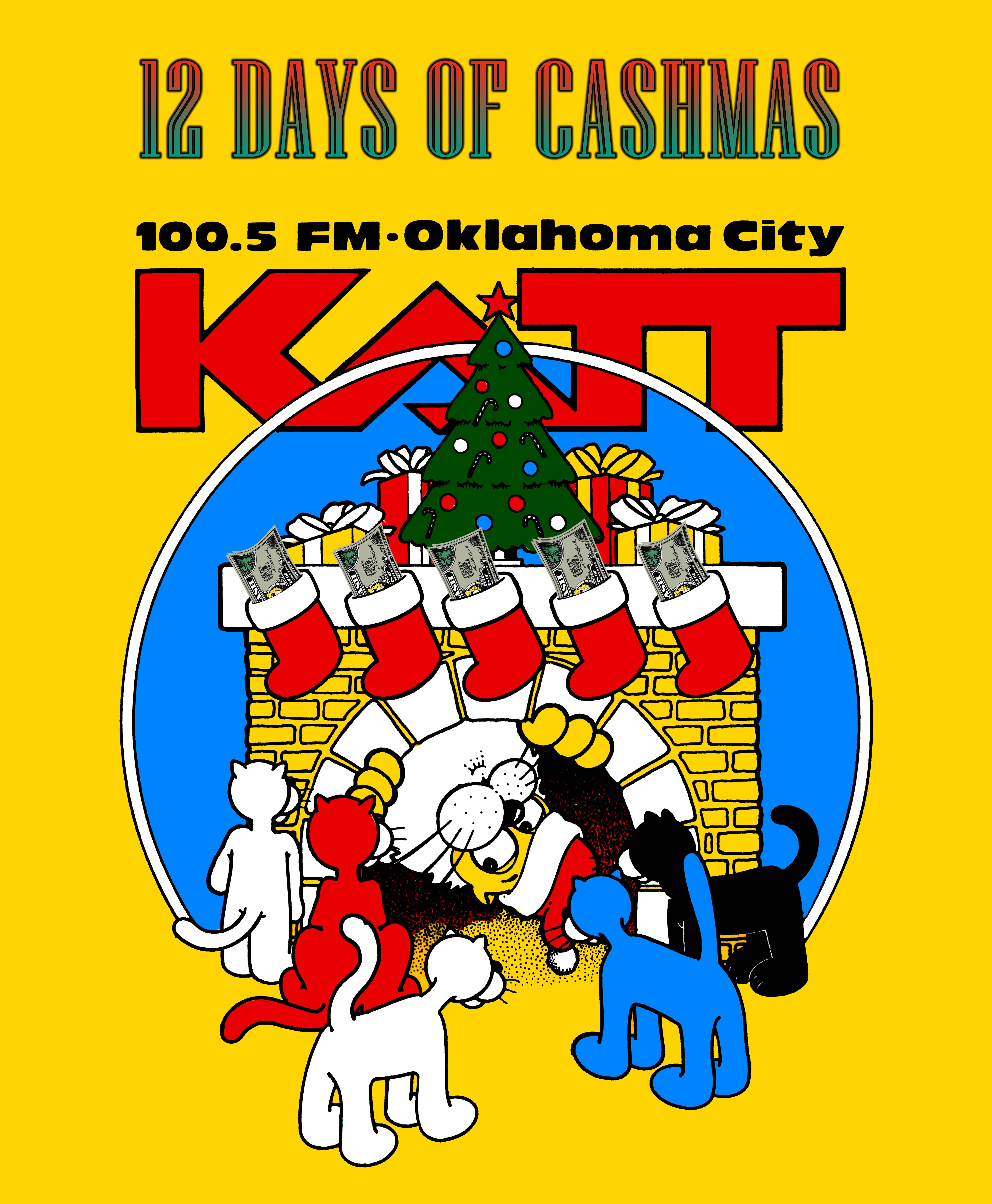 KATT's 12 Days of Cashmas