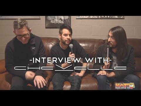 [VIDEO] Wreck the Halls 2019 – Cameron talks to Sam & Pete of CHEVELLE