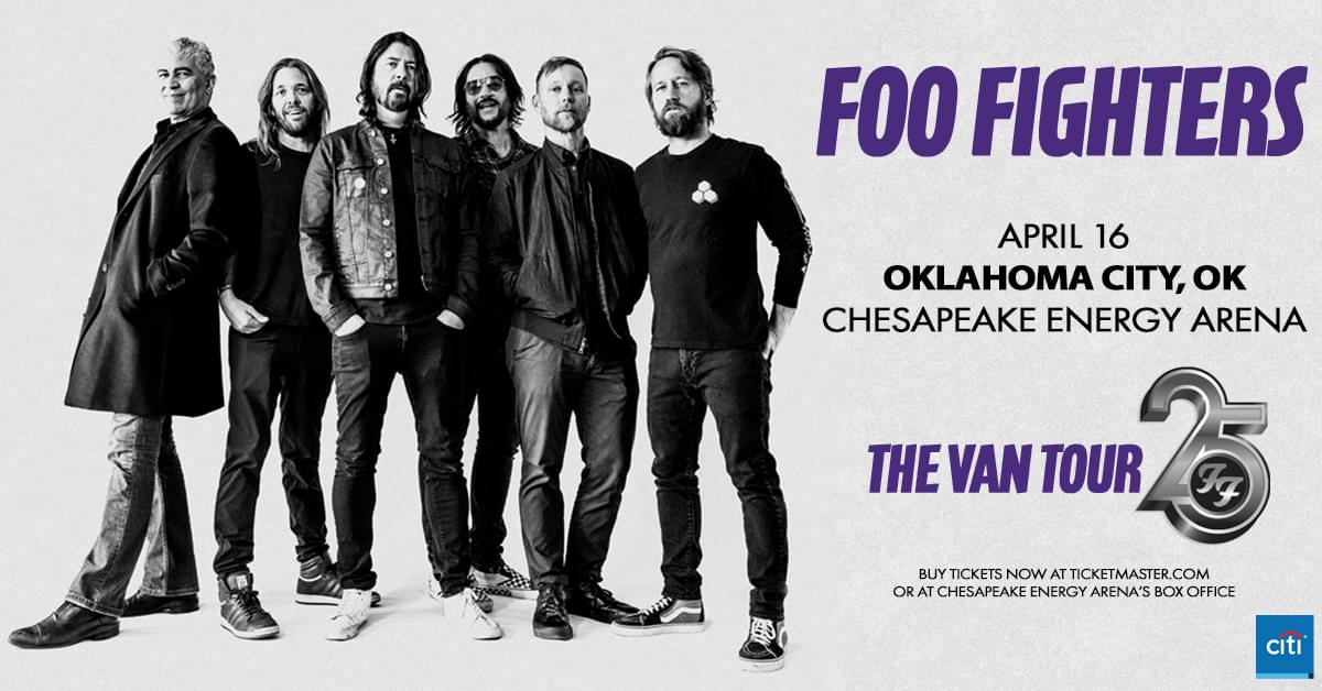 RESCHEDULED: Foo Fighters 25th Anniversary | Chesapeake Energy Arena
