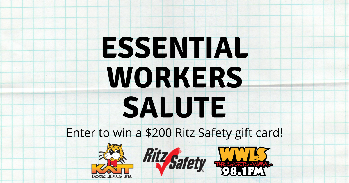 Essential Workers Salute | $200 Gift Card Contest!