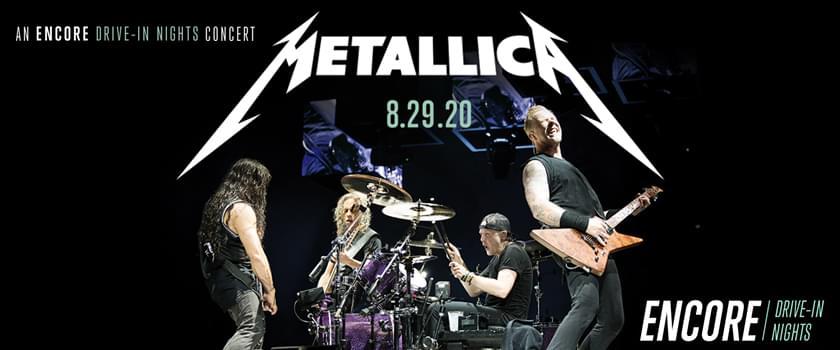 Metallica Hits Oklahoma Drive-In Theaters!
