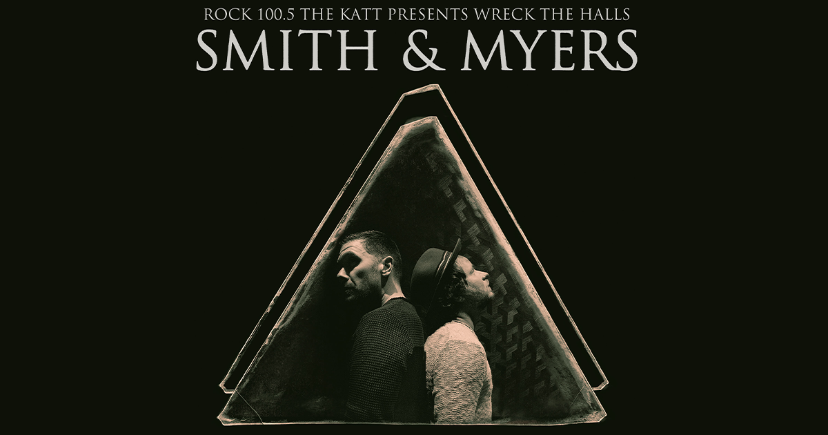 Wreck The Halls: Smith & Myers 12/3!