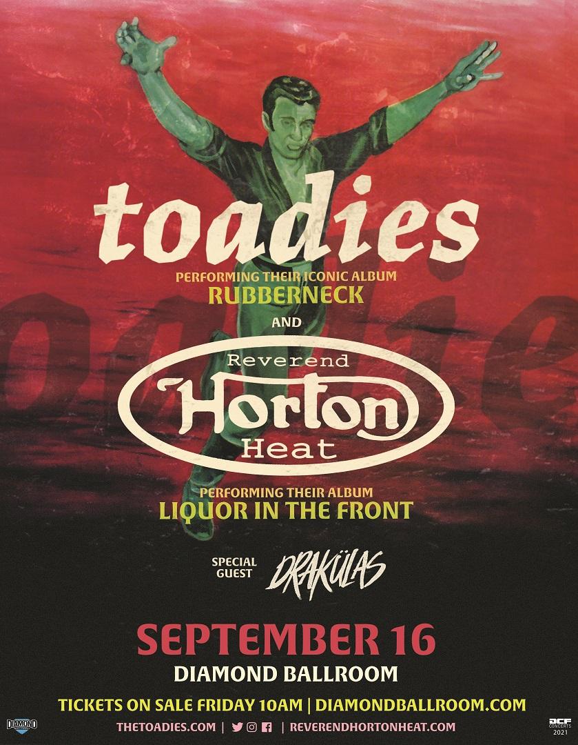 Toadies & Reverend Horton Heat | Diamond Ballroom