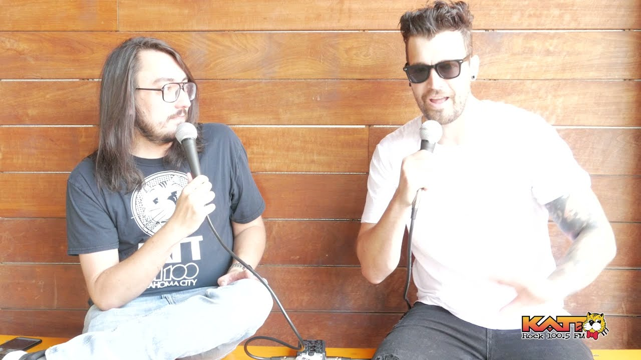 [VIDEO] Cameron talks to Dustin Bates of Starset
