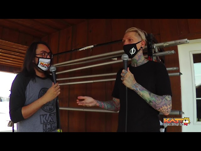 [VIDEO] Cameron talks to Chris Motionless of MOTIONLESS IN WHITE at Rocklahoma 2021