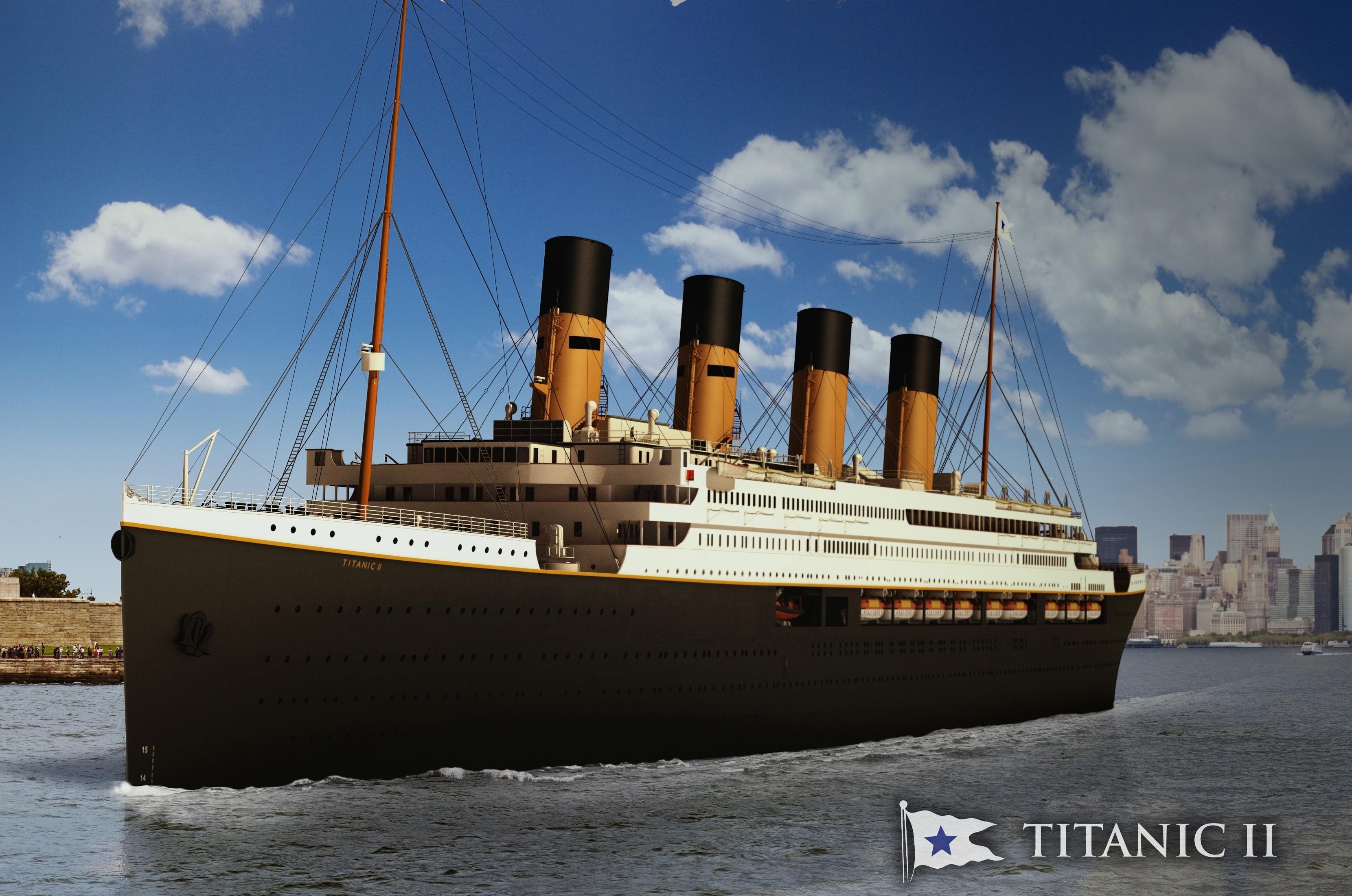 Titanic II Will Set Sail…Seriously