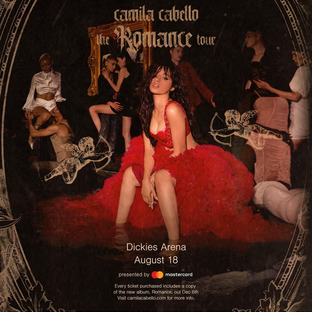 "Camila Cabello ""The Romance Tour"" | Dickies Arena"